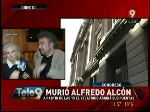 Murió Alfredo Alcón: A partir de las 15 horas el velatorio abrirá sus puertas