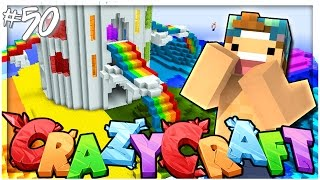 GAY RAINBOW ISLAND! | EP 50 | Crazy Craft 3.0 (Minecraft Youtuber Server)