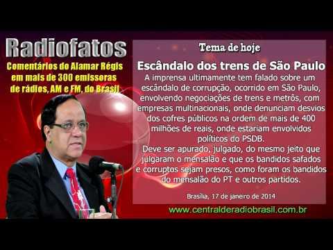 ESCÂNDALO DOS TRENS E METRÔS DE SÃO PAULO