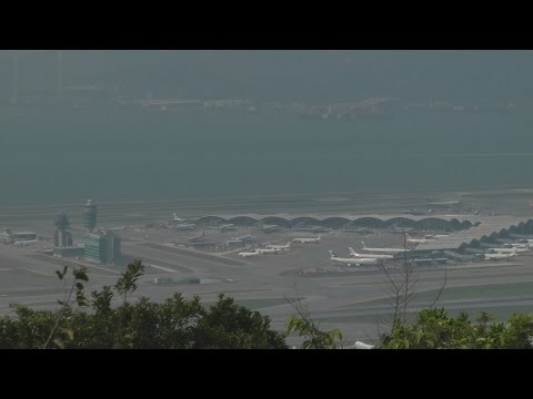 Hong Kong Chek Lap Kok Airport with ATC