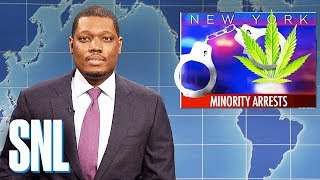 Weekend Update on Marijuana Possession Arrests - SNL