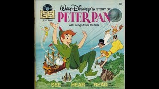 Peter Pan Read Along Book and Record