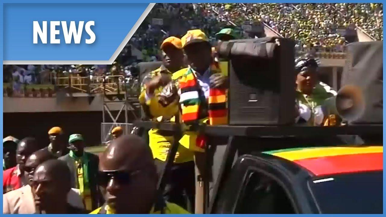 Zimbabwe re-elects Mugabe's old party Zanu PF