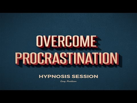 Beat Procrastination and Get Motivated Hypnosis Session