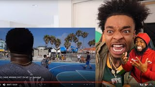 DELUSIONAL FLIGHT THINKS I CHEATED HIM IN 1vs1 BASKETBALL!