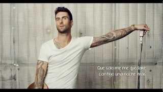 Maroon 5 - One More Night (Subtitulada En Español)