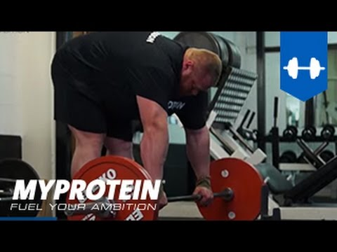 Myprotein ambassador Benni Magnusson - Road to a new deadlift world record (410kg - easy) Image 1