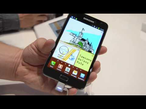 Samsung Galaxy Note hands-on (2)