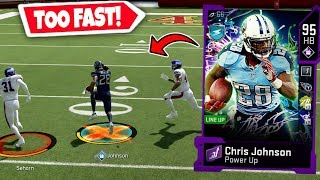 CHRIS JOHNSON IS TOO FAST! BREAKING ANKLES! MADDEN 20 ULTIMATE TEAM