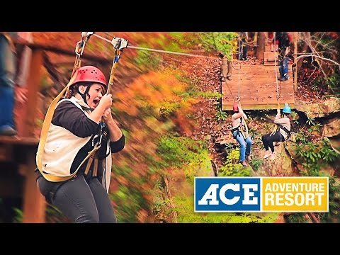 Zip Line Canopy Tours with Ace Adventure Resort
