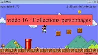 16 - Jeu Mario - Collections personnages