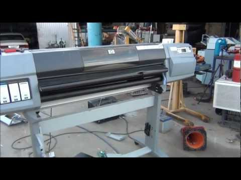 Equipment Autopsy/Teardown the Big Inkjet/Plotter Style Printer Part I