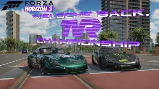 Forza Horizon 3 - Welcome Back, TVR Championship #TVR