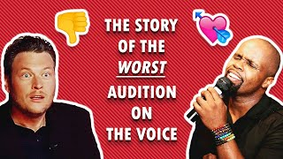 The Story of the WORST Audition on The Voice