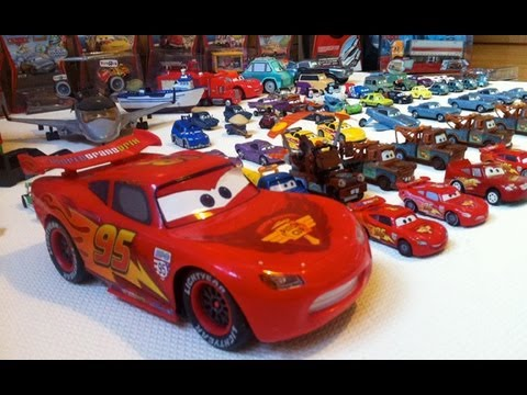 My Entire Cars2 Diecast Collecction Pixar Cars Toons video