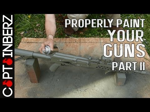 Properly Camo Painting a Gun/Rifle (Part II)