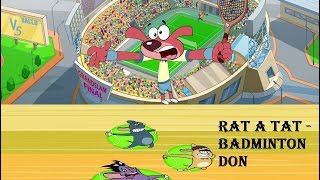Rat-A-Tat | 'TENNIS MATCH DON' | Chotoonz | Kids Funny Cartoon Videos