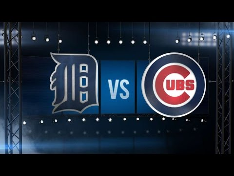 8/19/15: Tigers blast five home runs in Wrigley rout
