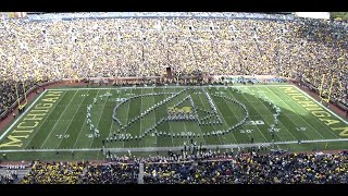 Spartan Marching Band: Marvel Halftime | MSU vs Michigan : 10.17.2015