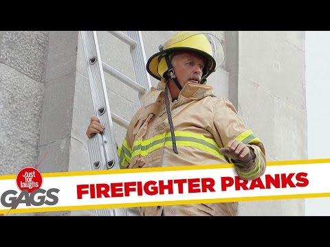 Best Firefighter Pranks - Best of Just for Laughs Gags