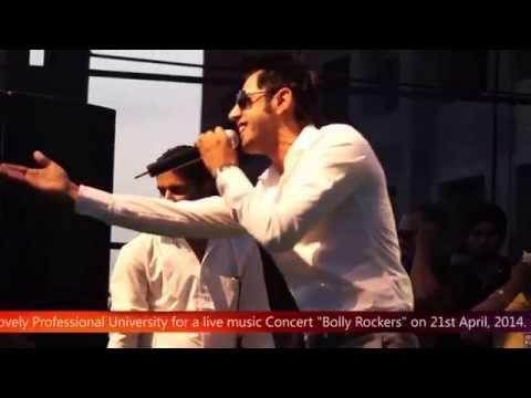 Singer & actor Gippy Grewal and Bollywoods actress Zareen Khan...