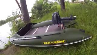 BoatHouse Seafisher 410 под мотором Yamaha F6 CMHS