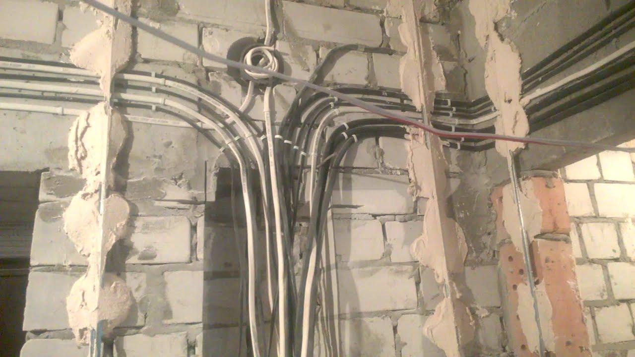 Электропроводка в квартире своими руками: схема, видео, фото 33