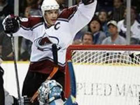Joe Sakic's Career Video