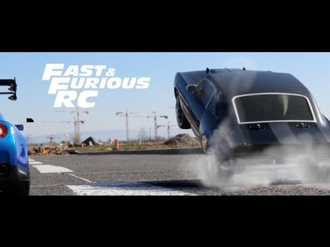 Fast & Furious RC : The Greatest Car Chase RC FF 7 ( Paul Walker / Vin Diesel )