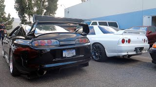 Supra breaks down at Toprank so I shopped for a R32 GTR...