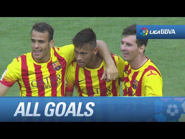 All goals FC Barcelona (2-0) Athletic Club - HD