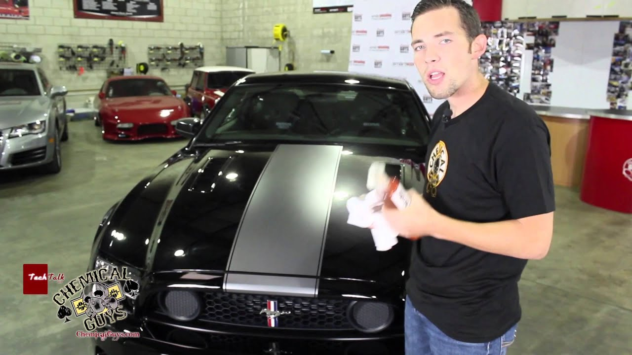 How To Detail Matte Paint And Wrap Finishes Chemical