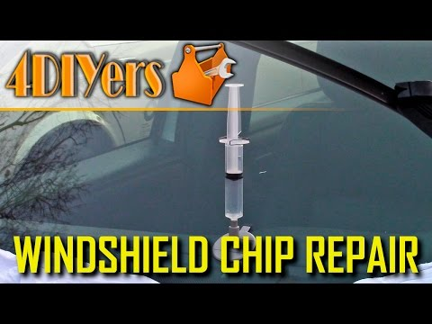 DIY: How to Repair a Windshield Chip