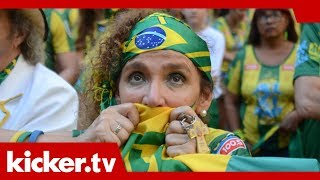 "Belgien feiert - Brasilien trauert: ""Neymar ist nur gefallen""   kicker.tv"
