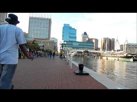 Baltimore Inner Harbor Saturday May 2, 2015 during Protests of Freddie Gray's Death