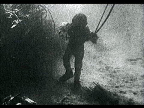 1937 Film of an Octopus Attack on a Helmet Diver with Rescue
