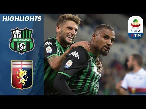 Sassuolo 5-3 Genoa | Sassuolo Hold Off Genoa Fight Back | Serie A
