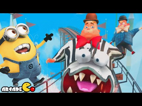 Jack In Boxes At The Villaintriloqusist - Despicable Me: Minion Rush Gameplay video