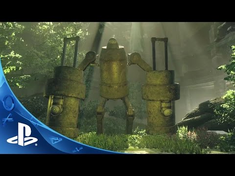 NieR: Automata - Paris Games Week 2015 Reveal Trailer   PS4