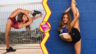 Cheerleading VS Gymnastics Best Skills Battle 2018