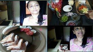 How to make a healthy breakfast || Breakfast recipes || veg sandwich || breakfast recipes hindi