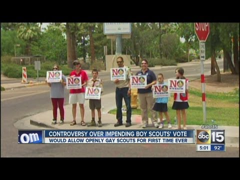 Controversy continues over Boy Scouts' vote