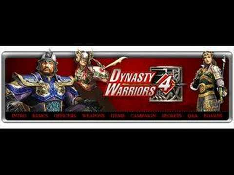 Dynasty Warriors OST- Look Back On Your Way