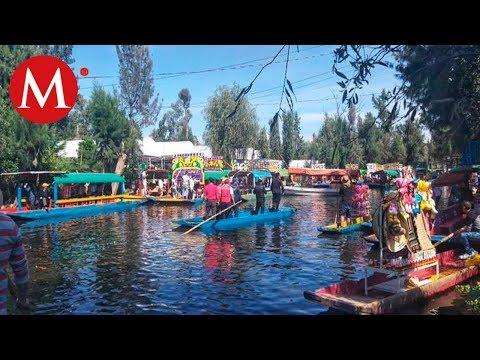 En Xochimilco, limitan alcohol y piden usar chalecos salvavidas en trajineras