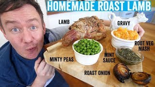 How to make a roast dinner #4 | Roast Lamb