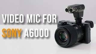 Best Mic for Sony a6000? Audio & Video Test - ECM-XYST1M Review (2017)
