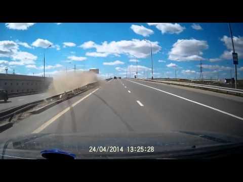 Авария 24 04 2014 или Мытищинский гонщик