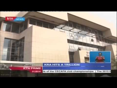 KRA collects a record over 1 trillion shillings in revenues
