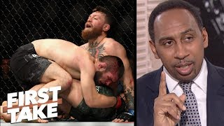 Stephen A.: Conor McGregor deserves rematch vs. Khabib Nurmagomedov | First Take