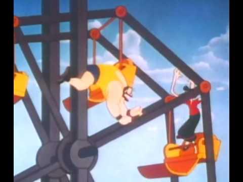 Popeye The Crystal Brawl Youtube
